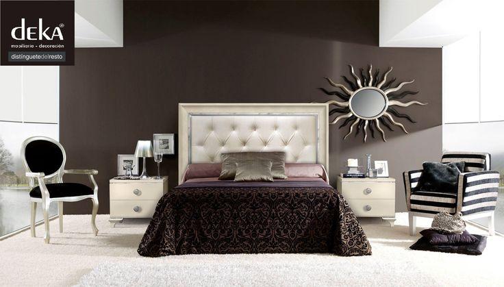 """Nueva colección de cabeceros para dormitorios, cargados de contrastes, y con infinitas formas.  Encontrarás lo que buscas. Deka """"distinguetedelresto"""""""