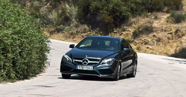 Mercedes E200 Coupe test drive