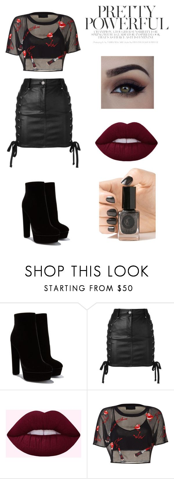 """""""♥_________♥"""" by lore-4ever-directioner on Polyvore featuring moda, Versus y Cirque Colors"""