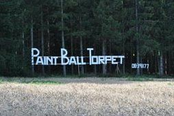 Paint Ball sign Hannige / Stockholm