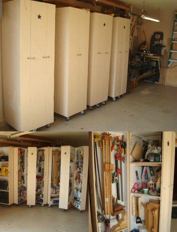 Diy Tool Storage Garage