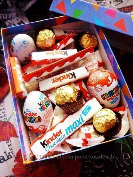 Подарок сладкоежке своими руками