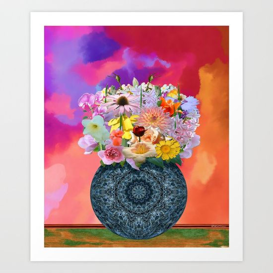 Collect your choice of gallery quality Giclée, or fine art prints custom trimmed by hand in a variety of sizes with a white border for framing.    https://society6.com/product/pour-toi437238_print?curator=listenleemarie