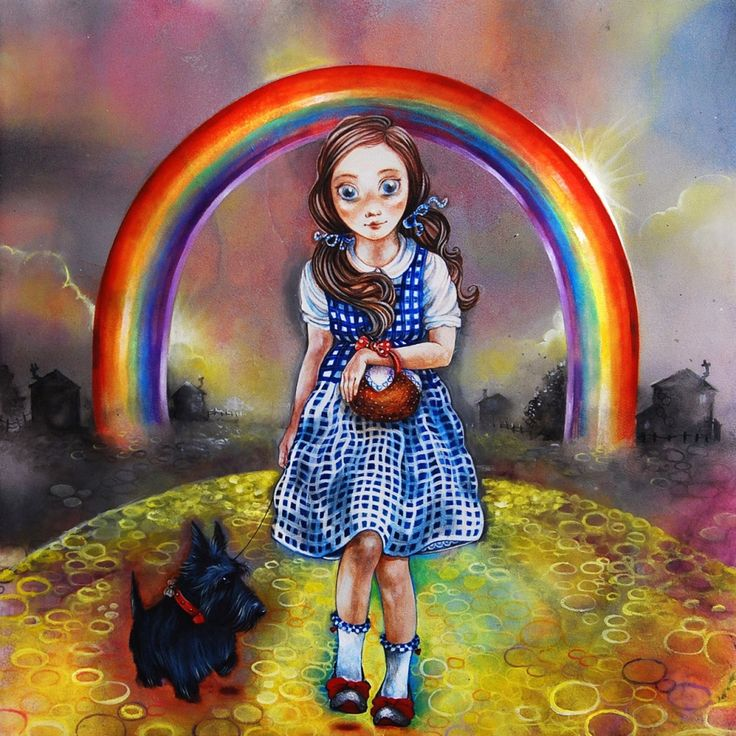 Study of Dorothy for the Wizard of Oz - Kerry Darlington
