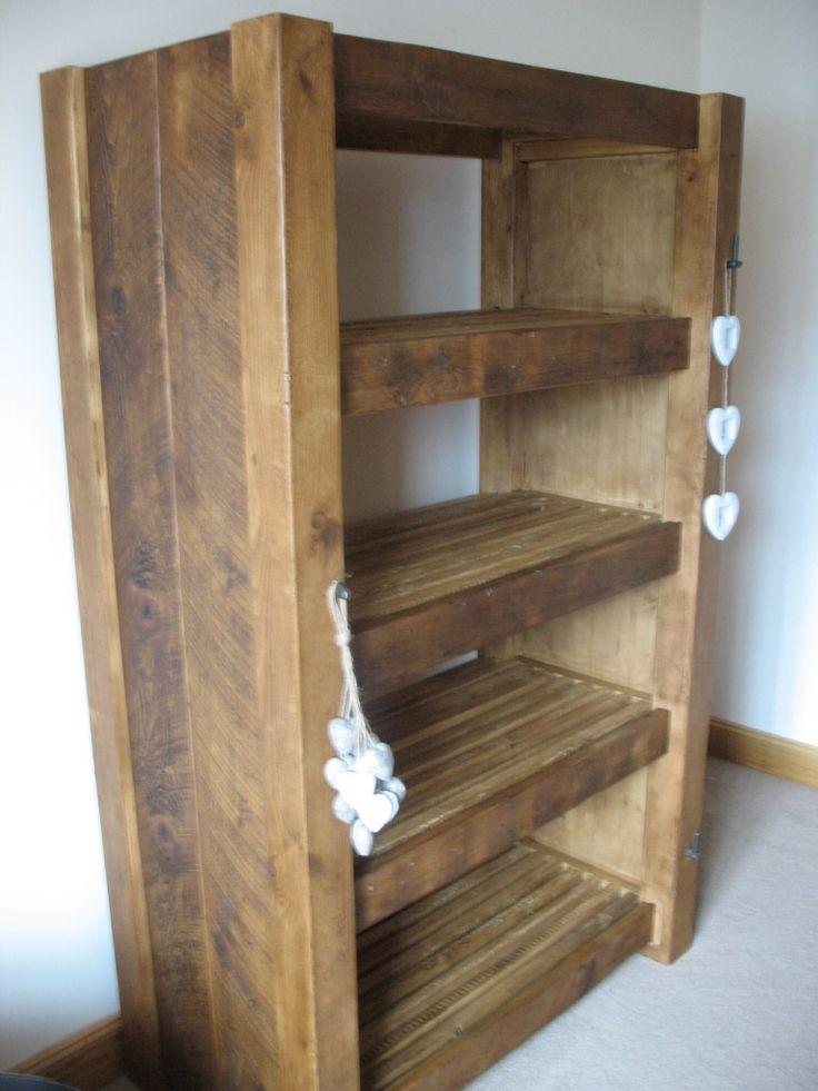 Rustic Bookshelves