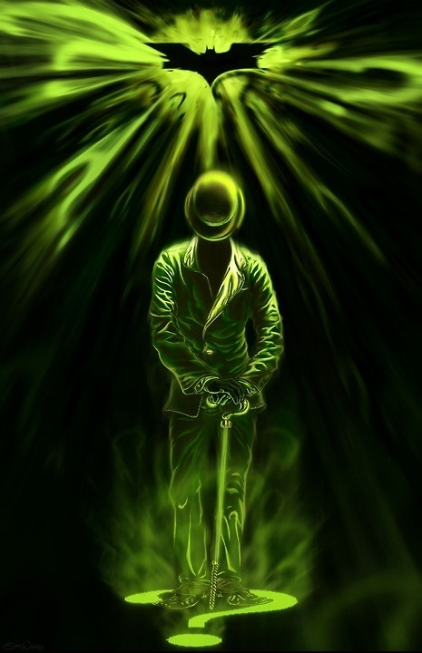 The Riddler. He's my fave, too. One of them anyway. Oh, the smart villains are all my faves, I can't help it.