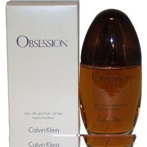 Obsession Perfume By Calvin Klein For Women.Eau De Parfum Spray 3.4 OZ $32.38  Obsession perfume by Calvin Klein was launched in the spring of 1985. Obsession Calvin Klein signifies true sensuality with the essence of mandarin, bergamot, and peach. Obsession perfume is enveloped with hints of lemon, jasmine, and oak moss. Combine this fragrance with the shower gel, body lotion, deodorant, and talc for a deeper experience. Obsession Calvin Klein is recommended for evening use.