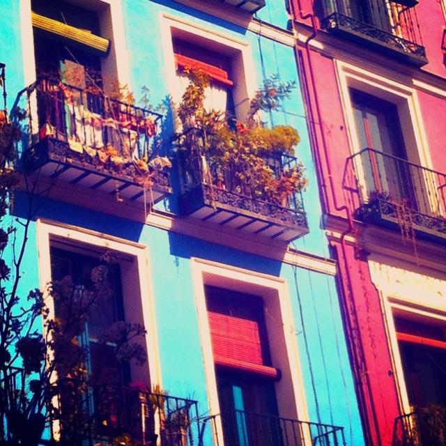 Barrio de Lavapies, Madrid