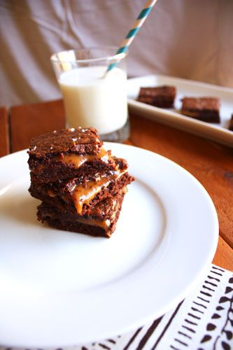 Salted Caramel Brownies: Recipe, Delicious Fooddrink, Sweet Tooth, Amazing Fooddrink, Yummy Fooddrink, Easy Salts Caramel Brownies, Sea Salts, Salted Caramel Brownies, Salted Caramels