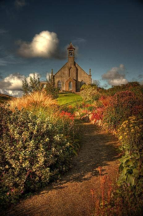 Weisdale (Church) Shetland Islands, Scotland.