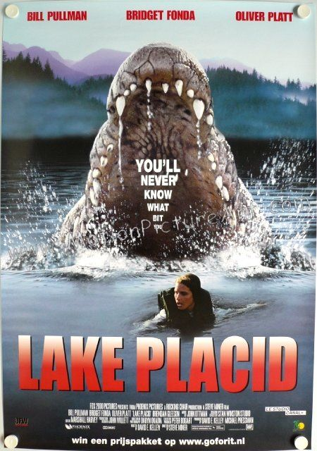 """Maybe I should just wipe myself with some leafy little piece of poison oak. And then I can spend the whole day scratchin' my ass, blendin' in with the natives."" - Kelly Scott, Lake Placid, (1999)"