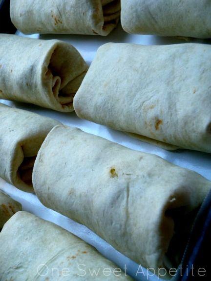 Comida de camping, burritos. Como en Chihuahua