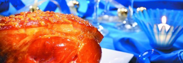 Glazed Ham with Beer and Maple Syrup