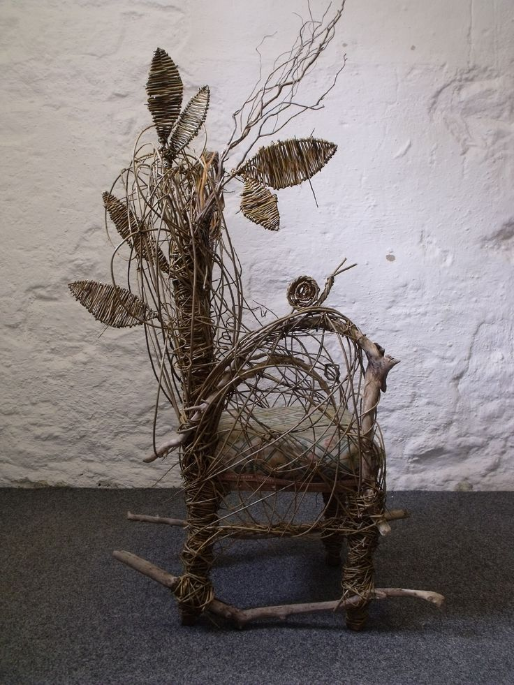 willow weaving and sculpture
