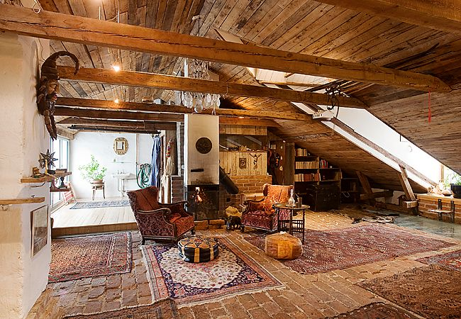 trä persisk matta