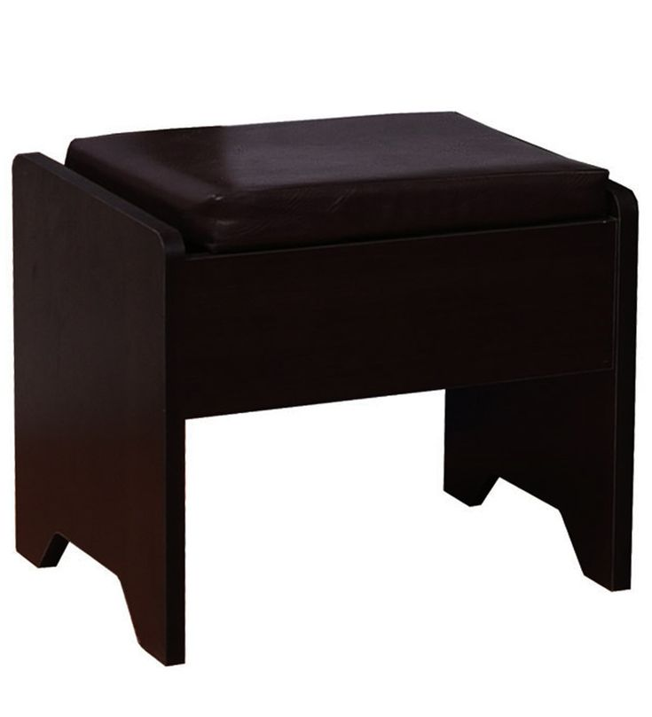 Zoom Dressing Stool In Wenge Colour By Asis Furniture At Discounted Price  Of 6658 Than 9399