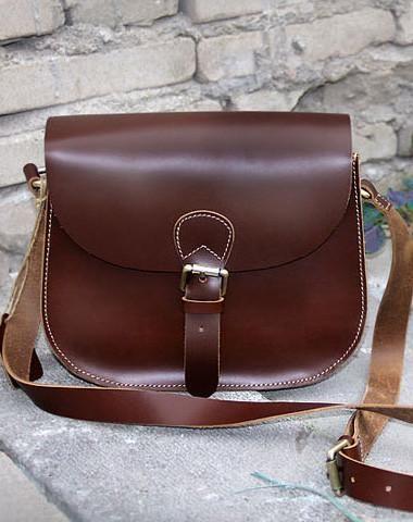 Ручной работы старинные кожаные сумки кроссбоди Сумка для женщин девушки леди
