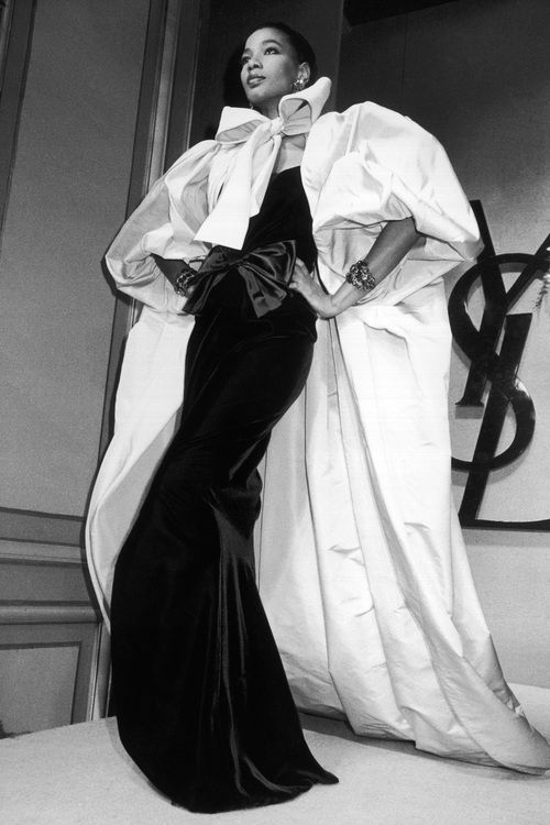 Princess Mounia for YSL 1980's