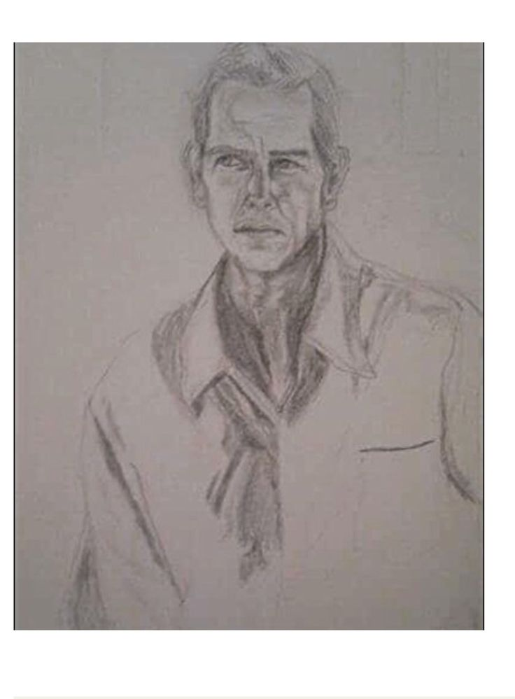 Drawing by Swedish crime fiction author A.C. Efverman - of her main character DS Morgan Callaghan. Books available world wide on Amazon. Series: 'DS Morgan Callaghan' by A.C. Efverman