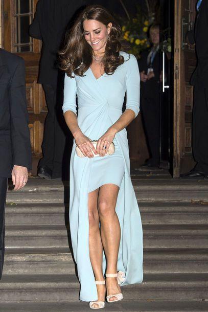 """Kate Middleton trug ein elegantes Abendkleid von Jenny Packham für die """"Museum's Wildlife Photographer of the Year Gala"""""""