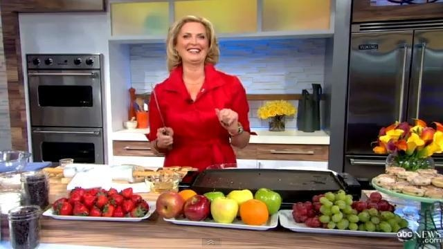 Ann Romney Makes Welsh Cakes on Good Morning America