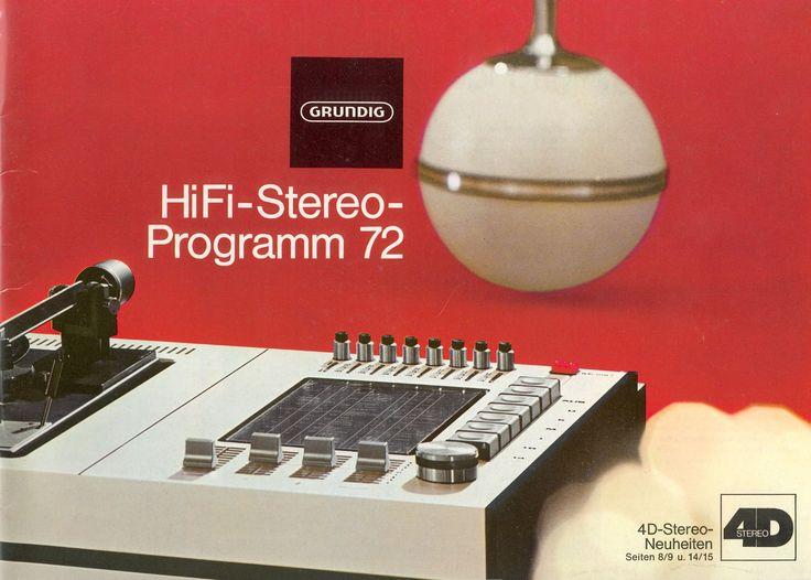 Grundig HiFi-Stereo Programm 72