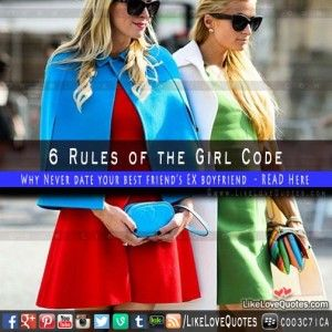 6 Rules of the Girl Code – What exactly are those rules?