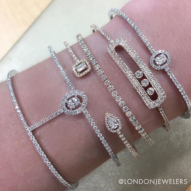 We could stare at this @messikajewelry #londonjewelersarmparty all day! . . . #messika #londonjewelers #madeinparis #love #style #diamonds #armparty #stacked #luxury #manhasset #nyc #longisland #90yearsoflondon