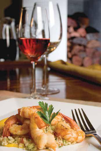 Los platos con mariscos van de maravillas con un vino rosado o un blanco sin paso por madera, como un Sauvignon Blanc
