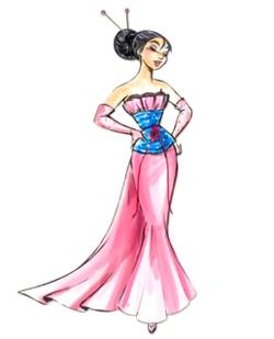 Designer Disney Princess collection