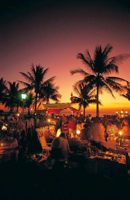 Mindl beach night market - Darwin, Australia