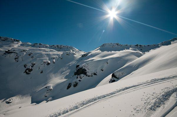 Fresh powder! Come and ski Queenstown!