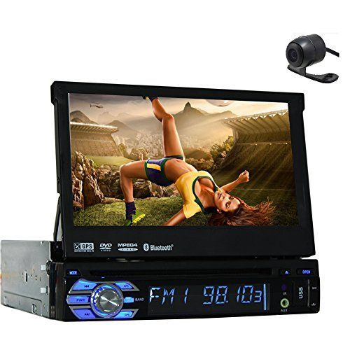 3D GPS Car Stereo Electronics single din Car PC Multimedia CD MP3 MP4 Head Unit In Dash Video Auto DVD Player Autoradio Radio Detachable TFT Touch RDS logo iPod Steering Wheel control Remote control *** Check out this great product.