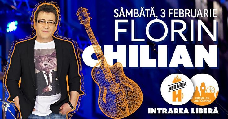 Sambata 3 februarie ora 19 - Concert Florin Chilian la Berăria H