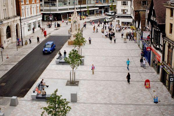 Maidstone Highstreet, UK (Pedestrian Friendly)