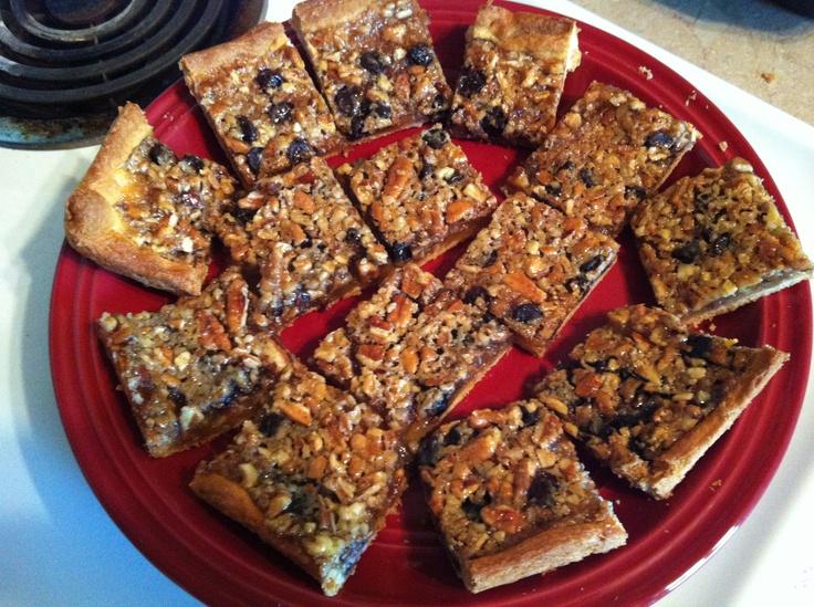 Quick Crescent Pecan Pie Bars Recipe — Dishmaps