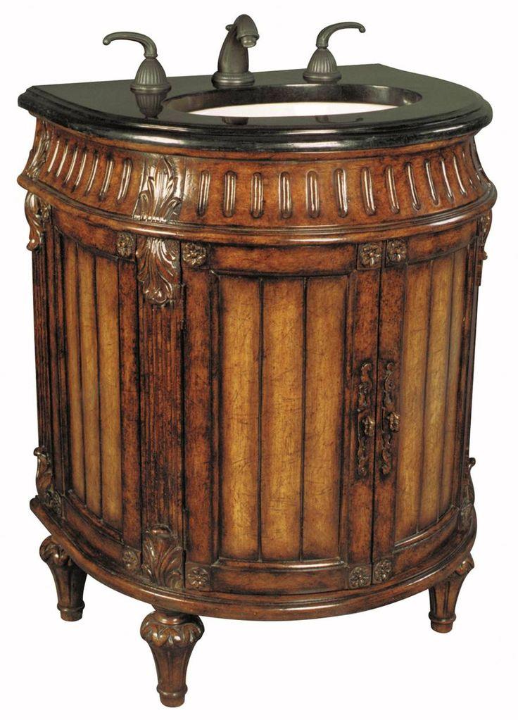 empress petite bathroom vanity fine fixtures 18 inch wood white dark cherry falls sink cabinet ah home
