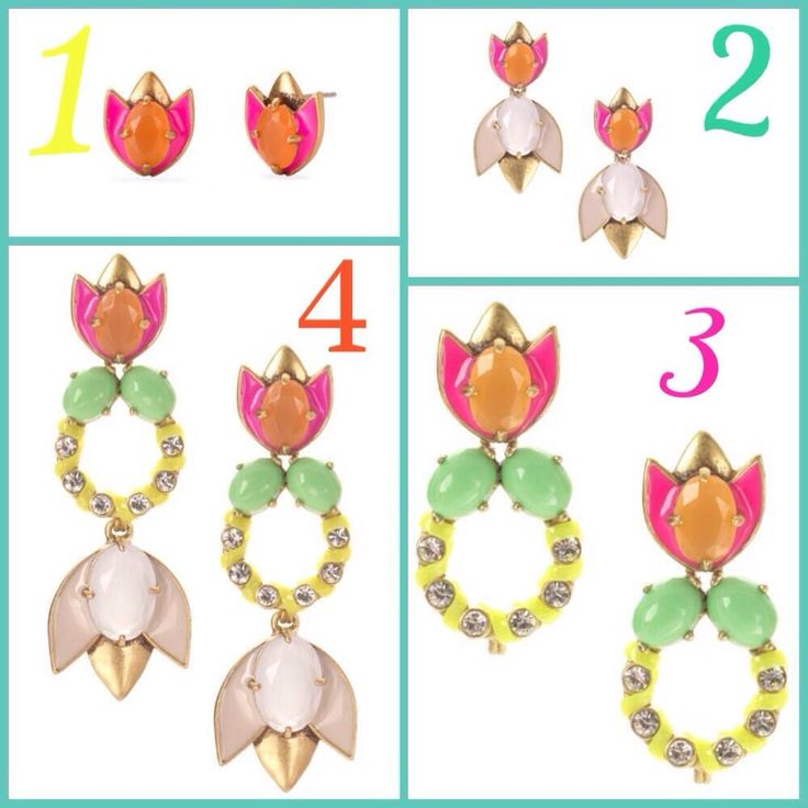 Stella & Dot's versatile Tropical Chandeliers can be worn as studs, drops, or chandeliers.  Shop here: www.stelladot.com/sarahtaliaferro