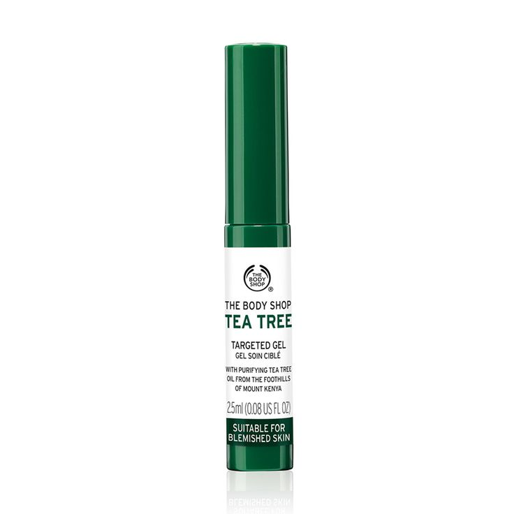 The Body Shop Tea Tree Targeted Gel is a convenient and portable stick that helps cleanse and fight blemishes without over-drying the skin. This is a handbag essential for blemishes that pop up unexpectedly.