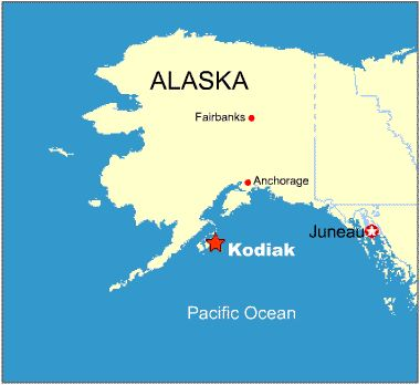 City of Kodiak Alaska Map | Kodiak, Alaska. MY hometown