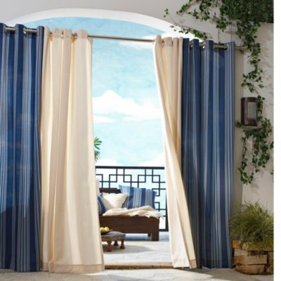 Indoor/Outdoor Gazebo Curtains   Add A Stylish, Indoor Feel To Your Outdoor  Living Space! Add Privacy And Style To Your Gazebo, Porch Or Patio!