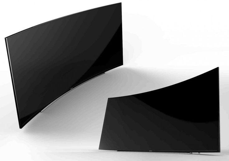 "Samsung 105"" UHD curved  TV"