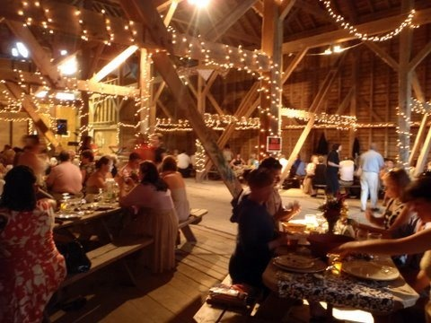 Beautiful Maine Barn Weddings