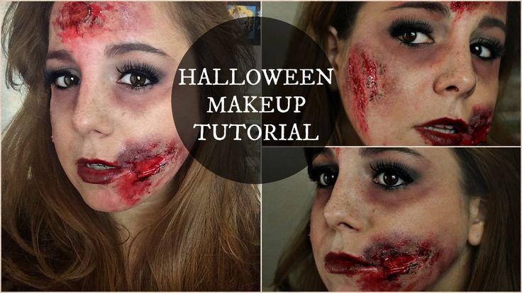 Halloween Tutorial ★ Sexy Makeup + Ferite, Sangue e Lividi