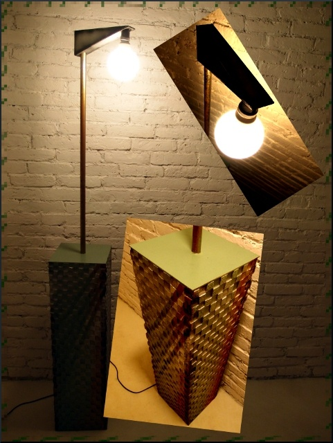Extraordinary bulb box lamp - tribox by Fragmen Kawałek