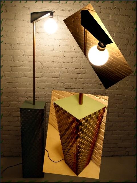 Extraordinary bulb box lamp - tribox by Fragmen Kawałek