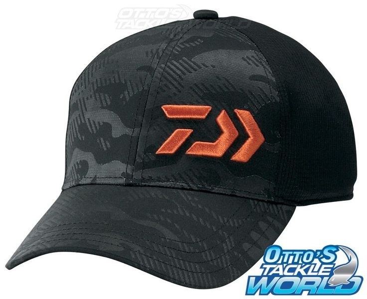 Hats and Headwear 70810: Daiwa D-Vec Dc 7805 Cap Black Free Brand New At Ottos Tackle World BUY IT NOW ONLY: $46.0