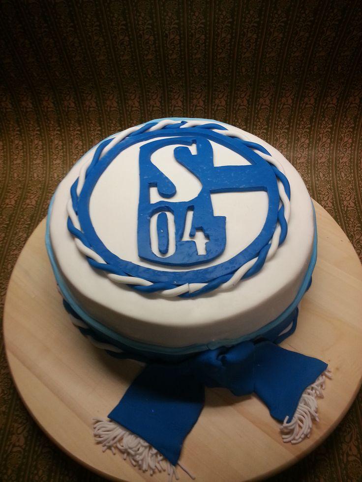 Schalke 04 Torte