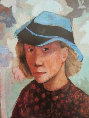 Self Portrait - Tove Jansson, 1936 (Finnish, 1914-2001)