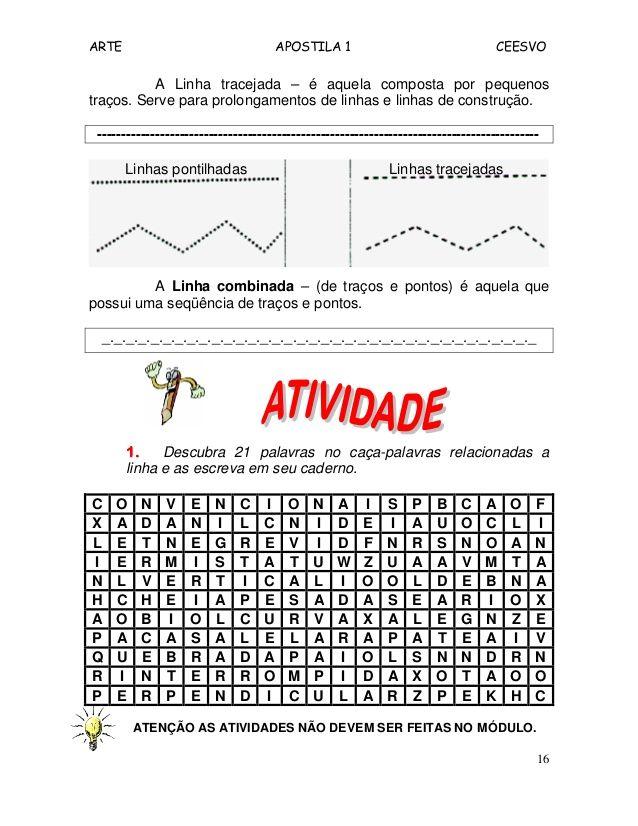 Exercicios De Arte Sobre Pontos Linhas Cores Pesquisa Google